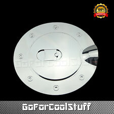 For 07-13 Chevy Silverado 1500 2500 3500 Hd Chrome Fuel Gas Cap Door Cover
