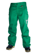 Technine Chino Shell Snowboard Pants Mens Size Large Green New
