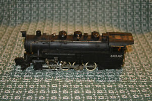S AMERICAN FLYER 342AC 0-8-0 SWITCH ENGINE ONLY - NO TENDER