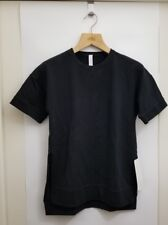 Lululemon Cut Above Tee NWT Sz 4 Black Lightweight French Terry Fabric