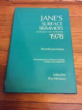 JANE' S  Surface Skimmers Hovercraft And Hydrofoils 1978. Edited By Roy Mcleavy.