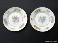"""EMPIRE by NORITAKE FINE CHINA ~ 2 Bread & Butter Plates 6 1/4"""" ~  OCCUPIED JAPAN"""