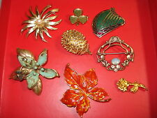 Lot de BROCHES FANTAISIE  Anciennes  Vintage Brooch
