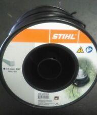 Filo nylon Stihl quadrato nero mm 3,3 x 140 metri 00009302622 quadro