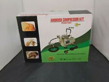 Airbush Compressor Kit Piston Type New In The Box With Manual #130