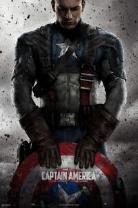 "Captain America: The First Avenger - Movie Poster (Regular - Shield) (24"" X 36"")"