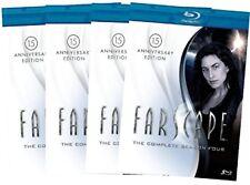Farscape: Complete Series- Season 1,2,3 & 4 15th Anniversary Bluray Edition. New