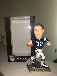 2015 Andrew Luck Bobblehead Indianapolis Colts Forever Player Bobble Stanford