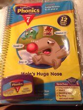"""LEAPFROG LEAP PAD PHONICS PROGRAM LESSON 7 - """"Mole's Huge Nose"""" - Long Vowels"""