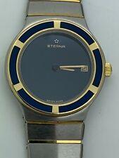 Eterna Swiss 18 Kt Gold Quartz Date Woman Watch