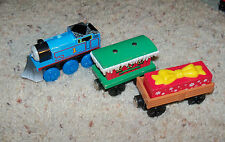 Thomas Train Wooden Winter Wonderland, Christmas Present Gift Wood Cargo Car Set