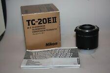 nikon tc-20e II af-s 2x teleconverter
