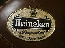 """vintage 1966 Heineken beer sign/9"""" by 6.5"""""""