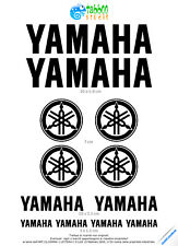 Pegatinas 12 adhesivos Yamaha kit logo moto Yamaha R1 R6 TMax motocicletas