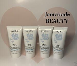 4 x Lancome Crème Radiance Clarifying Cream-to-Foam Cleanser 1.7oz/50ml Each
