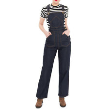Queen Kerosin Rockabilly Vintage Latzhose / Jeans Hose - 2 in 1 Dungaree