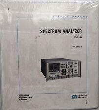 HP 3585A Spectrum Analyzer Service Manual Vol 2 P/N 03585-90006 *NEW*