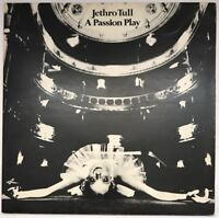 JETHRO TULL A PASSION PLAY LP CHRYSALIS GREEN LABELS UK 1973 EX/EX WITH BOOKLET