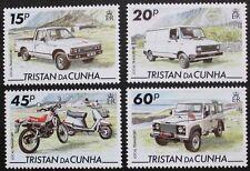 Local transport stamps, 1995, Tristan da Cunha, SG ref: 576-579, 4 stamp set MNH