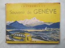 GENEVE SWITZERLAND.MINI PHOTOGRAPH SET,8 DELUX,NEW,1940-50 ?.MONT BLANC.ROUSSEAU
