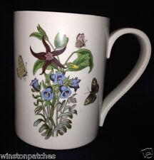 PORTMEIRION BOTANIC GARDEN CANTERBURY BELLS MUG 12 OZ BLUE FLOWERS
