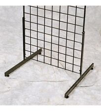 T Shape Gridwall Panel Legs Display Set Of 3 Pairs Black For Grid Panels