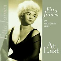 ETTA JAMES - 19 GREATEST HITS-AT LAST  VINYL LP NEU