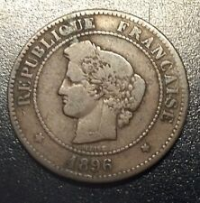 1896 - A France 5 Centimes' As Shown