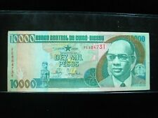 GUINEA BISSAU 10000 PESOS 1990 P15 GUINE 16# BANK CURRENCY BANKNOTE MONEY