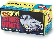 CORGI 1/43 CC04206 James Bond Aston Martin DB versione GOLD(oro) THUNDERBALL NEW