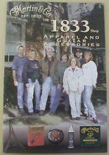 1998 CF Martin Guitar Co - THE 1833 SHOP catalog, apparel + guitar accessories
