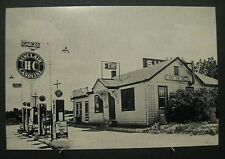 Vintage RP Jonesburg Mo Missouri Sinclair Gas Station Restaurant Photo Image