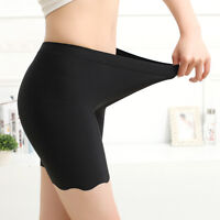 Womens Summer Anti Emptied Safety Pants Underwear Shorts Safety pants Breathable