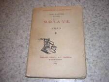 1910.Sur la vie / Yves Scantrel.Suarès.T2