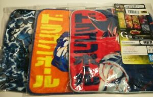Dragon Ball Hand Towel 3 item Ichiban kuji Bandai From Japan