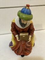 "O'Well Porcelain Wise Man 6""Figure Kneeling Nativity Scene Colorful King"