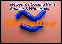 Blue silicone radiator hose for HILUX KZN130GW 1KZ-TE 3.0 1993-1996 1KZTE DIESEL
