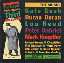 P GABRIEL M KNOPFLER J BROWNE - The Secret Policeman's Third Ball (CD) MINT RARE