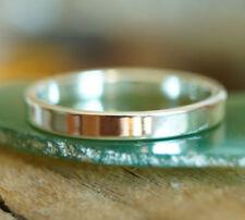 Herren-Ringe ohne Steine aus echtem Edelmetall 62 (19,7 mm Ø)