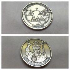 Medaillie el papa juan pablo ii. 2.mai 1987 Cuenca del Ruhr plata