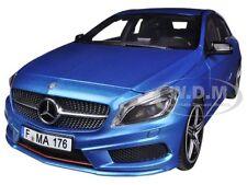 2012 MERCEDES A 250 SPORT BLUE 1/18 DIECAST CAR MODEL BY NOREV 183595