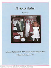 All About Sasha Volume II Doll Patterns Booklet