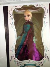 """Disney Store Anna and Elsa LIMITED EDITION 17"""" LE Frozen Doll Set"""