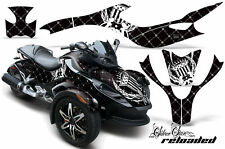 AMR RACING GRAPHICS WRAP KIT CAN AM BRP CANAM SPYDER RW