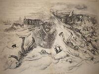 1872 Harper's October 26 Nast - Democrats swept away by Republican popularity
