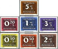 Österreich P260,P261-P263,P264-P266 (kompl.Ausg.) postfrisch 1985 Portomarke