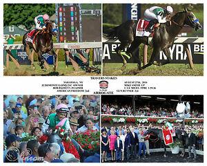 ARROGATE TRAVERS STAKES 2016 SARATOGA COMPOSITE PHOTO 11 x 14
