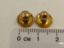 Dress Stud Set too good to scrap Antique Vintage Solid 9ct Yellow Gold Collar &