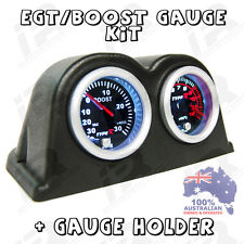 PYRO EGT EXHAUST GAS TEMPERATURE GAUGE + TURBO BOOST PSI KIT FORD RANGER BT50