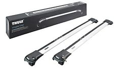 Thule WingBar Edge Silver Roof Rack Railings Land Rover Freelander MkII 2007-
